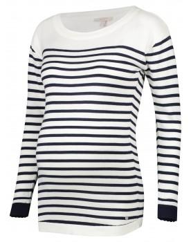 Esprit Umstands-Shirt aus weicher Baumwolle mit Streifen 20830210
