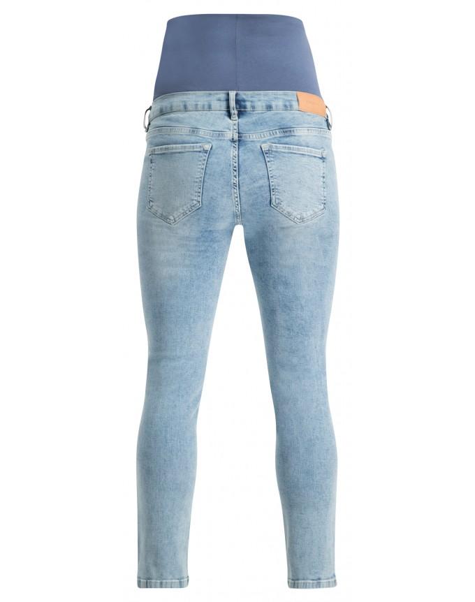 Slim Umstandsjeans 7/8 Mila Vintage Blue