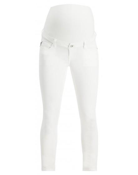 Supermom Skinny Umstandsjeans Skinny White 20231011