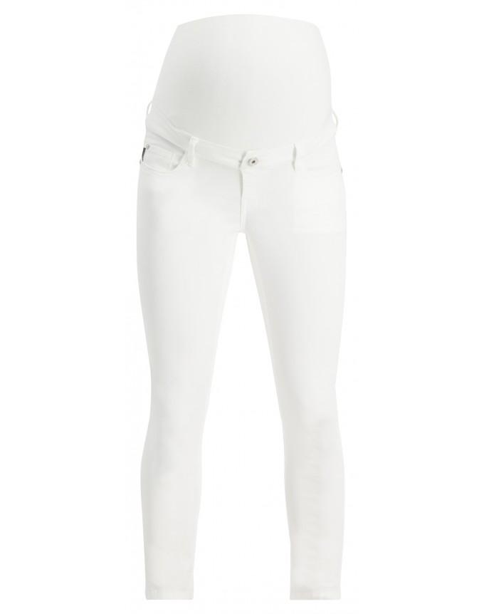 Skinny Umstandsjeans Skinny White