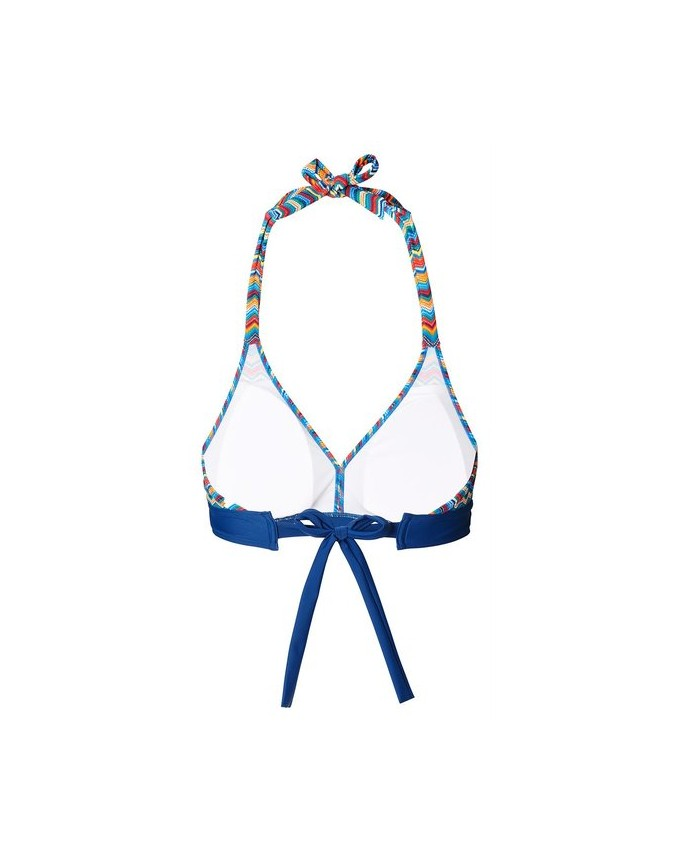 Wattiertes Bikini-Top mit Tupfen-Dessin Swim & Beach Bikini-Top N1884855