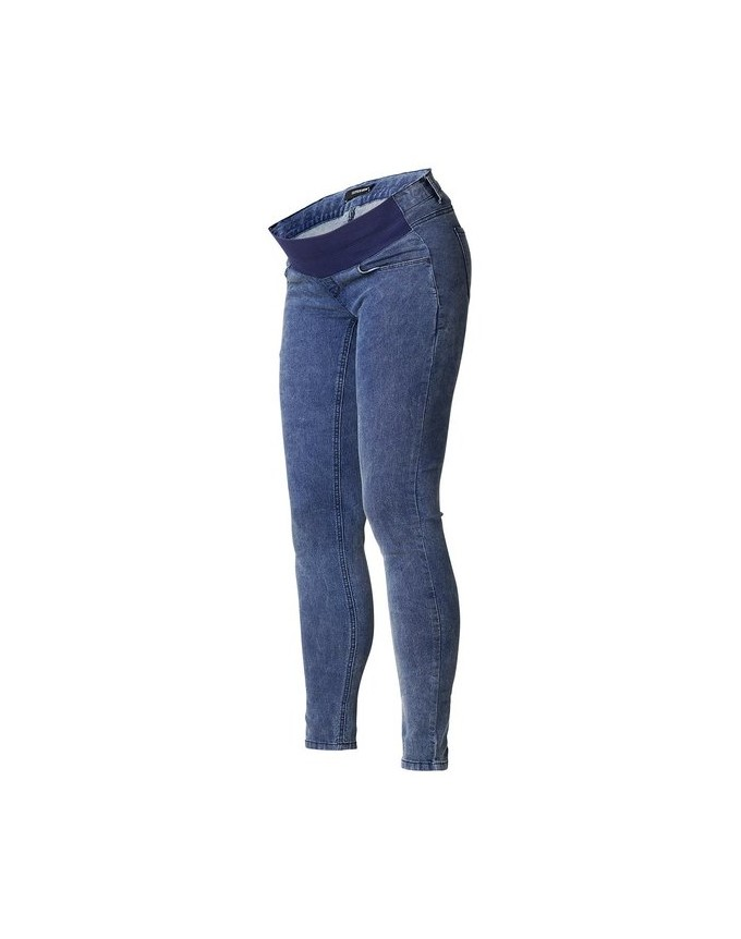 Jeggings Blue Umstandsjegging den modernen Look S0787