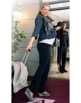 Christoff Umstandsmode - Marlene-Hose mit hochelastischem Stretchbund bis Gr. 54 44-500